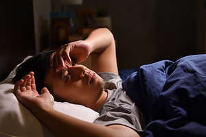 insomnia - Copyright – Stock Photo / Register Mark